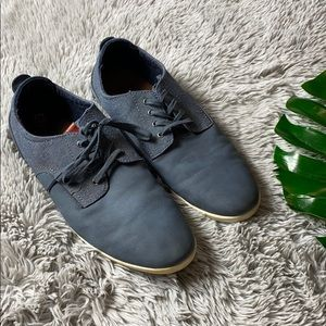 Aldo men's blue suede shoes size 12